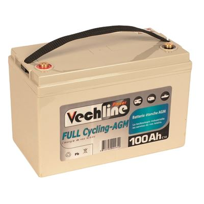 Batteria Vechline Full Cycling AGM 115 AH