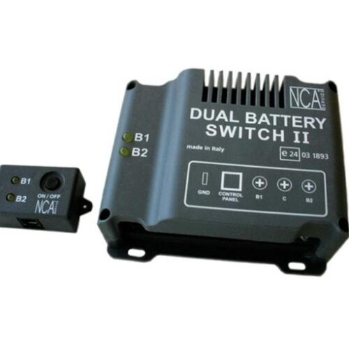 Dual Battery Switch II + Remote Control