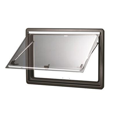 Finestra Dometic Seitz S4 esterno nero opaco RAL9005