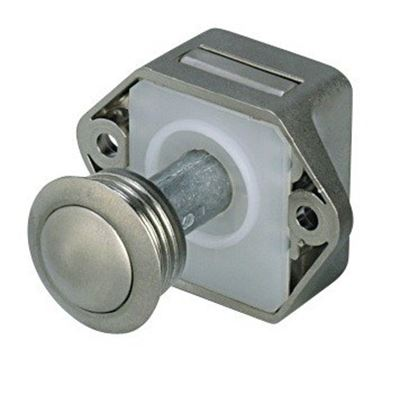 Serratura Push-Lock Modello Piccolo Nichelata