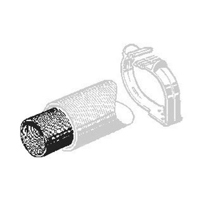 Tubo di Scarico in acciaio ø 65 mm. 910387