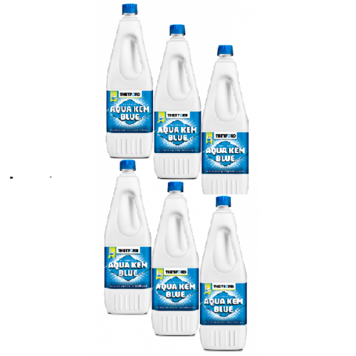 Aqua Kem Blue 2 Litri Confezione da 6 Bottiglie