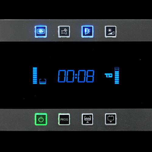 """Pannello di comando con visualizzatore LCD negativo 4,8"""" a 12 colori"""