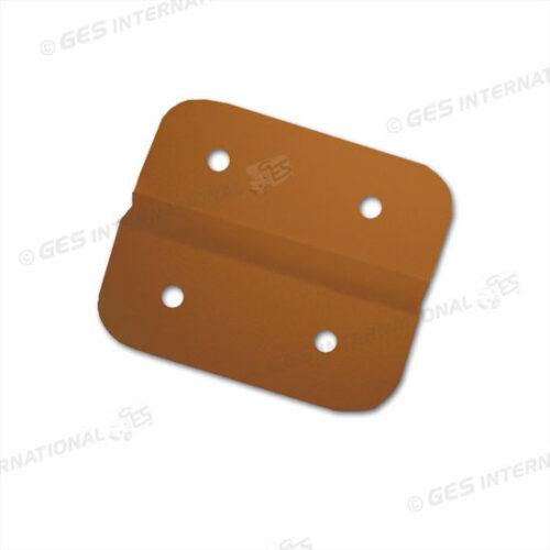 Cerniera plastica marrone per cassapanca