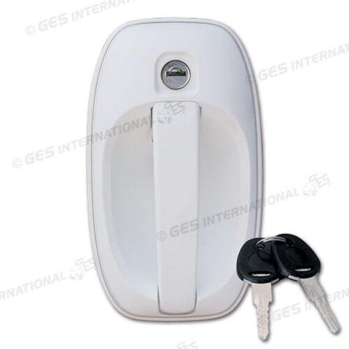 Maniglia esterna SMART M1 bianca con chiavi