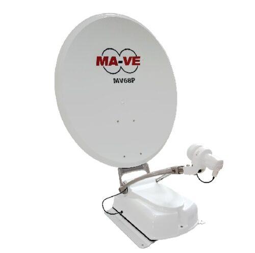 Parabola Satellitare MA-VE MV68P + Tastierino 4 sat. (astra 19 - hotbird) ITA