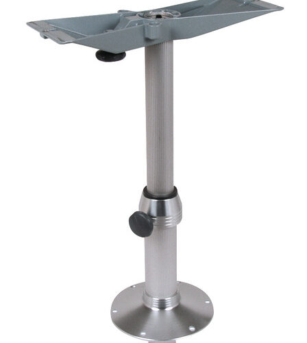 Colonna da tavolo in alluminio con smorzatore di pressione del gas