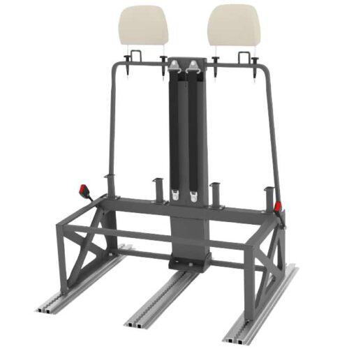Kit installazione supporto cintura a 3 punti 595010