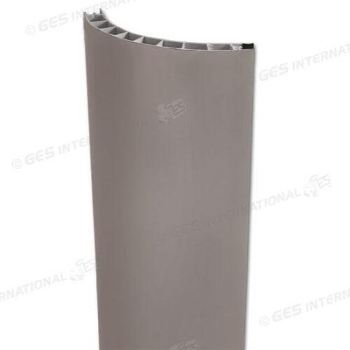 Profilo angolare PVC grigio – 90° 2,5 m