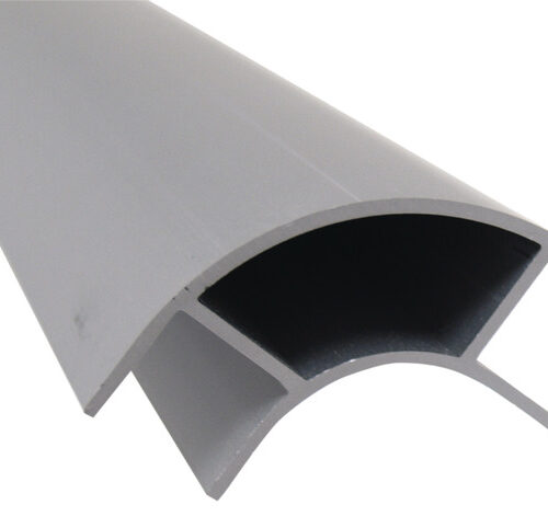 Profilo angolare per mobili in alluminio 2,2m, aperto su entrambi i lati