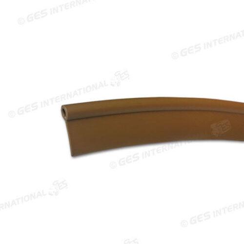 Profilo marrone per giunzione pannelli soffitto