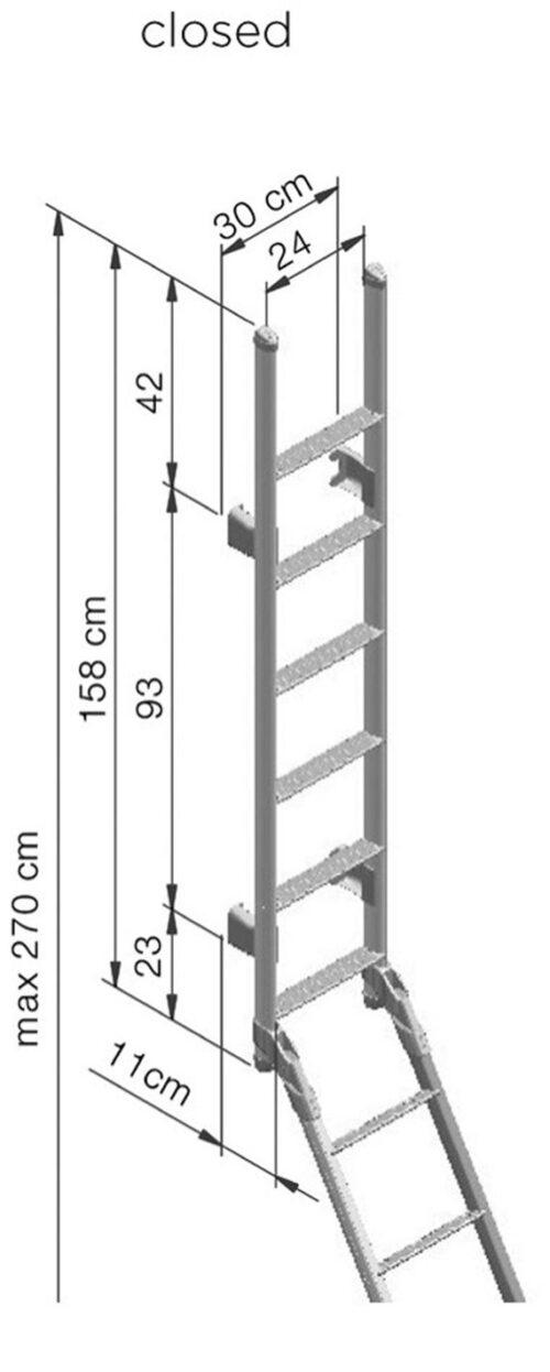 SCALETTE ESTERNE THULE - MODELLO 2
