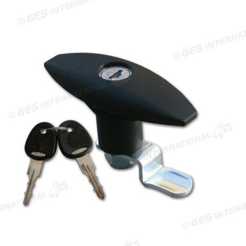 Serratura FAP nera con cilindretto e chiavi