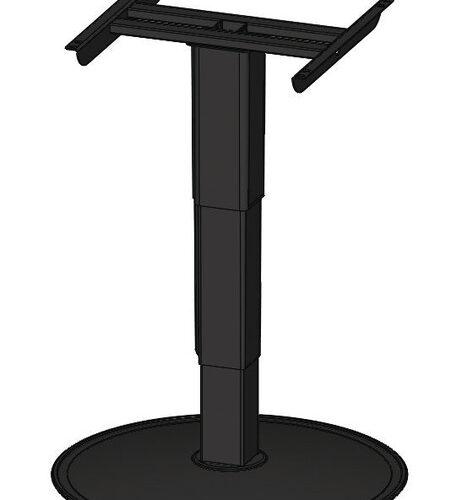 Tavolo elevatore a colonna singola 320-680mm, solo altezza superiore e inferiore