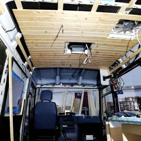 Mercedes Benz 614D Rivestimenti 03 - Mondo Camper